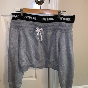 Ivy park gray cropped jacket